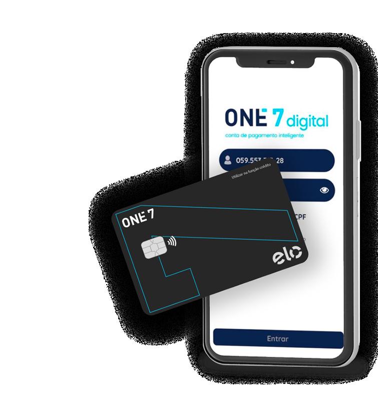 Abra uma conta One7digital!