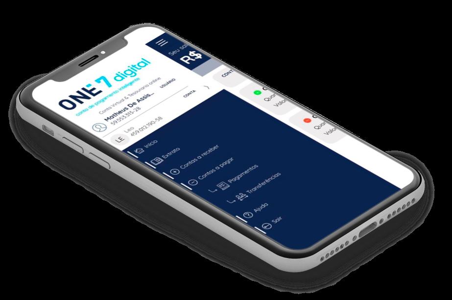 App - One7digital - Conta de pagamento inteligente