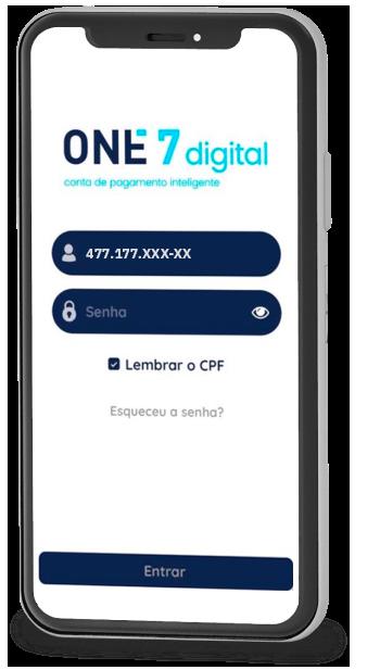 One7digital - Conta de pagamento inteligente